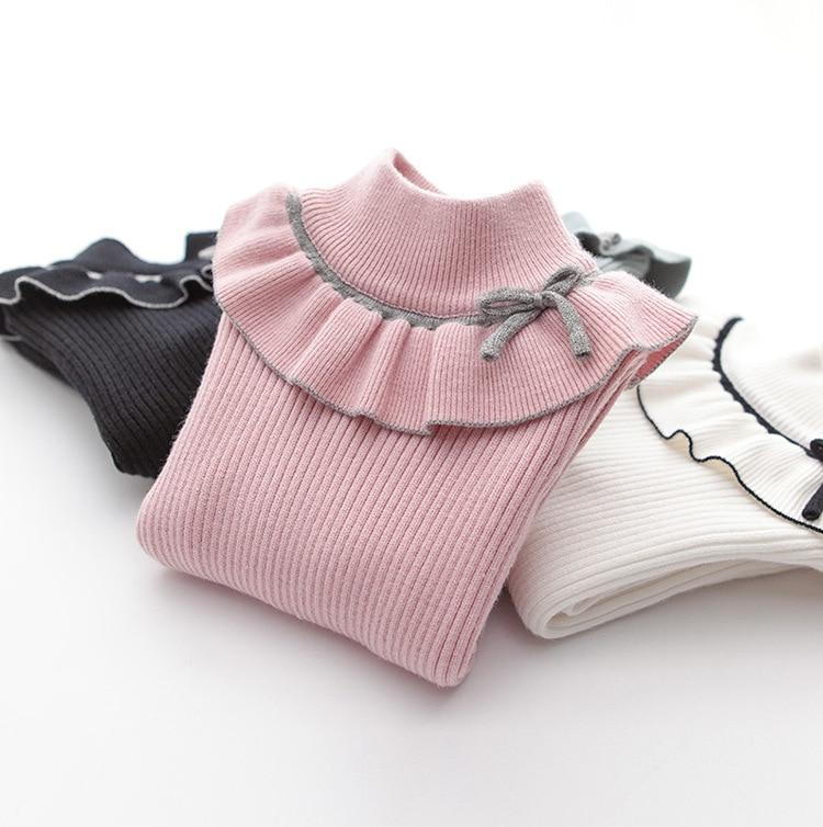 Pullover Turtleneck for 6-14 Years