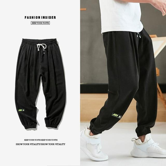 Casual Joggers Pants in Loose Form