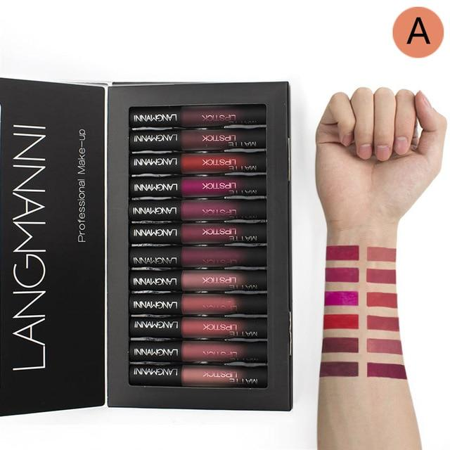 Waterproof Matte Lipstick Sets