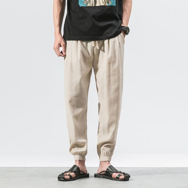 Baggy Pants in Cotton