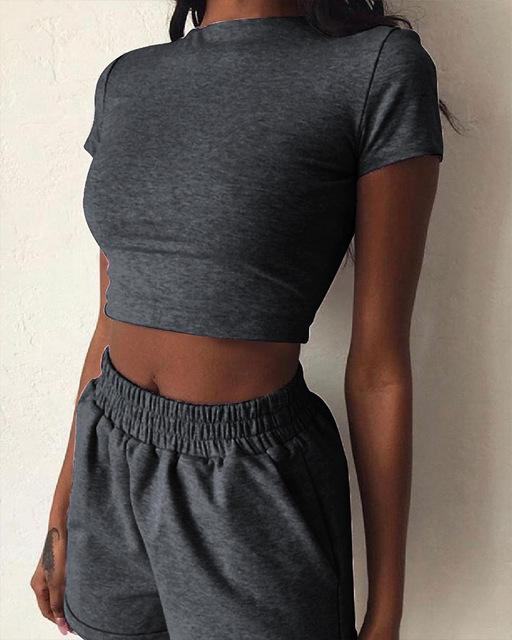 Lounge Crop Top and Short