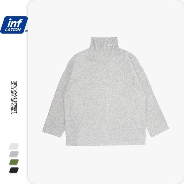 High Neck Pullover in Loose Fit
