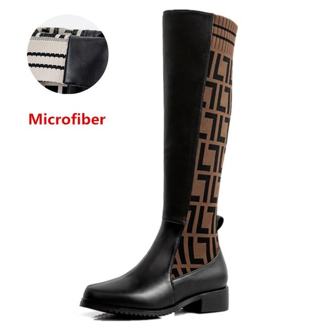 Comfortable Cow Leather Boots