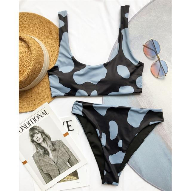 Two Pieces Push Up Bikini Suit