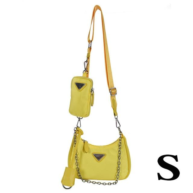 Crossbody Bag with Chain