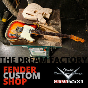 Fender Custom Shop Australia - Guitar Station Melbourne is the place t shop for Fender Custom Shop guitars and basses