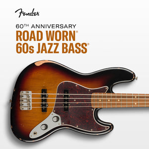 Fender Road Worn 60th Anniversary Jazz Bass