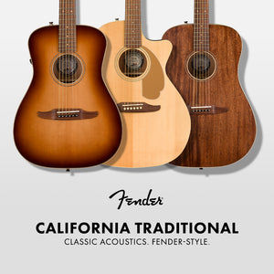 Fender California Traditional Acoustic Guitars