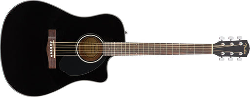 Fender CD-60SCE Dreadnought - Black - Guitar Station Melbourne, Australia