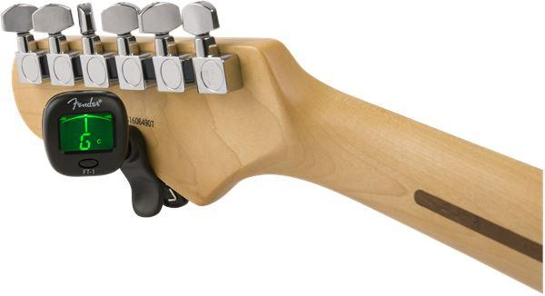 Fender Fender FT-1 Pro Clip-On Tuner, Black - Guitar Station Melbourne, Australia