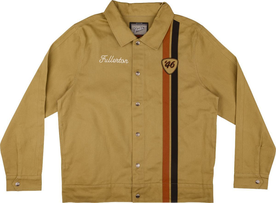 Fender Fender Fullerton Shop Jacket, Tan M - Guitar Station Melbourne, Australia