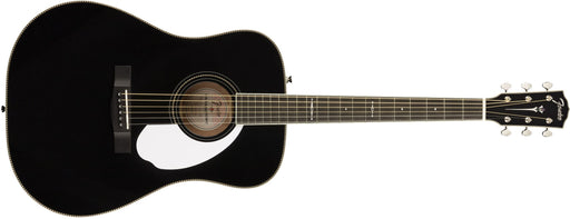 Fender Limited Edition PM-1 Deluxe Dreadnought with Case, Ebony Fingerboard, Black - Guitar Station Melbourne, Australia