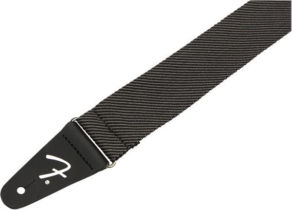 "Fender Modern Tweed Strap Gray/Black 2"" - Guitar Station Melbourne, Australia"