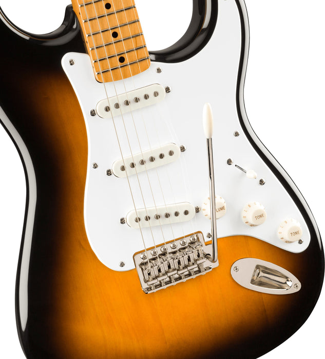 Squier Squier Classic Vibe '50s Stratocaster, Maple Fingerboard, 2-Color Sunburst - Guitar Station Melbourne, Australia