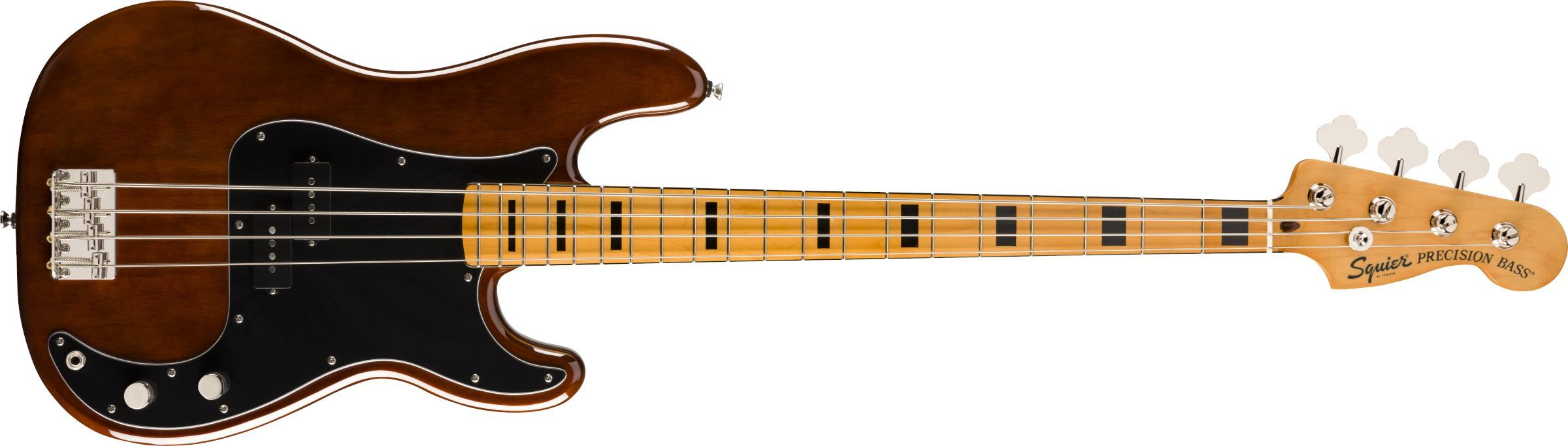 Squier Squier Classic Vibe '70s Precision Bass, Maple Fingerboard, Walnut - Guitar Station Melbourne, Australia
