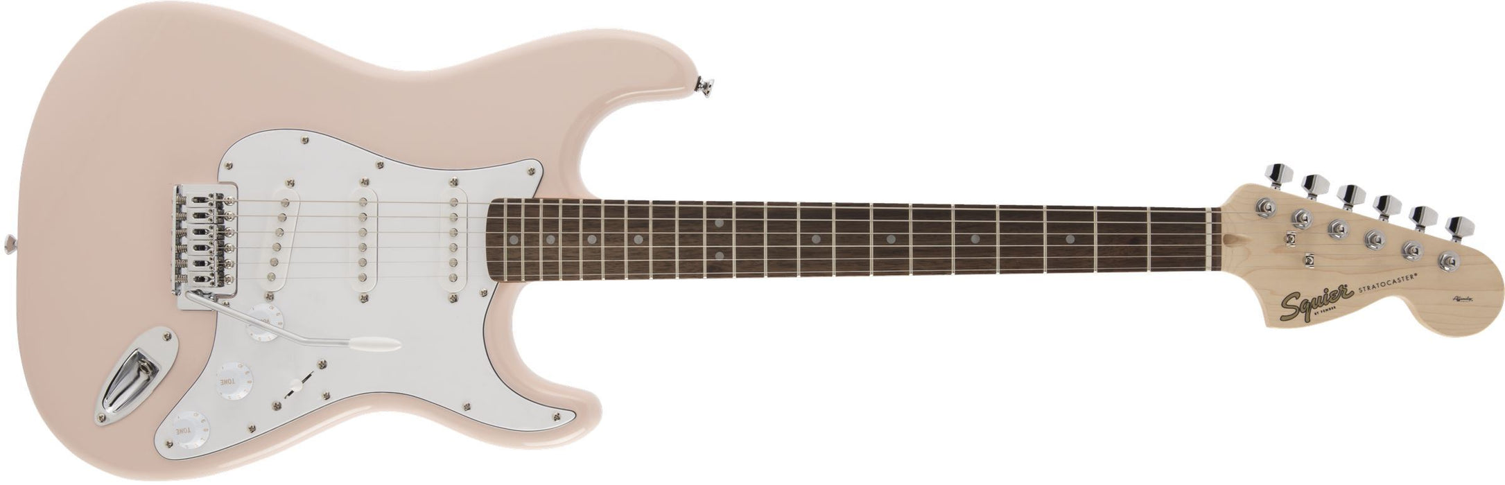 Squier Squier FSR Affinity Series Stratocaster - Shell Pink - Guitar Station Melbourne, Australia