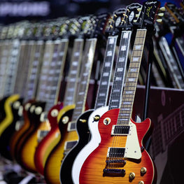 Epiphone Les Paul guitars from beginner to professional level models