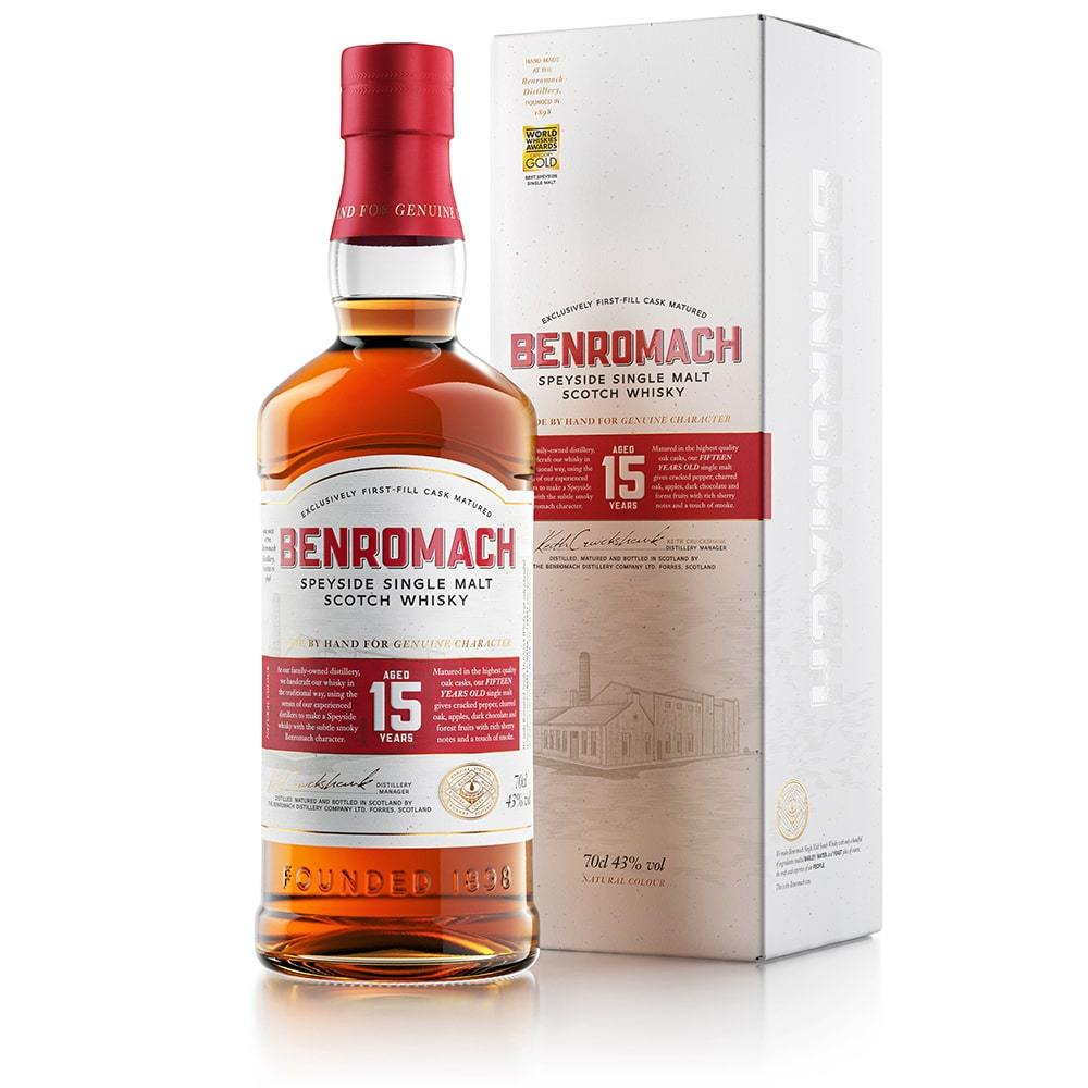 Benromach 15 Year Old - 70cl