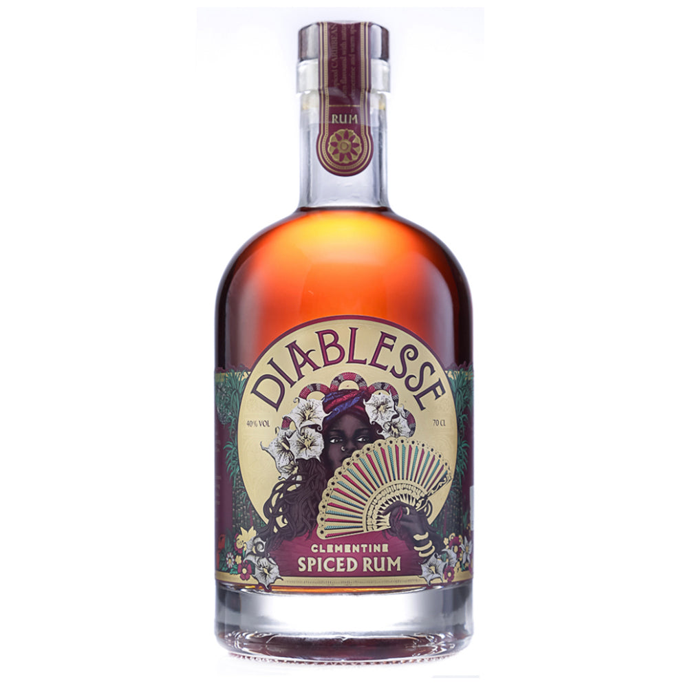 Diablesse Clementine Spiced Rum - 70cl