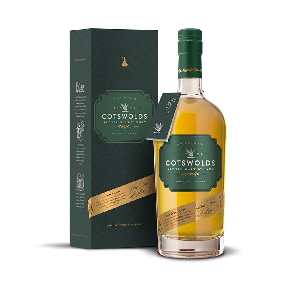 Cotswolds Peated Cask - 70cl