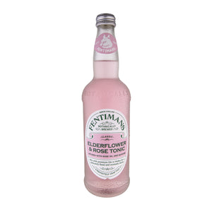 Fentimans Elderflower & Rose Tonic Water - 50cl
