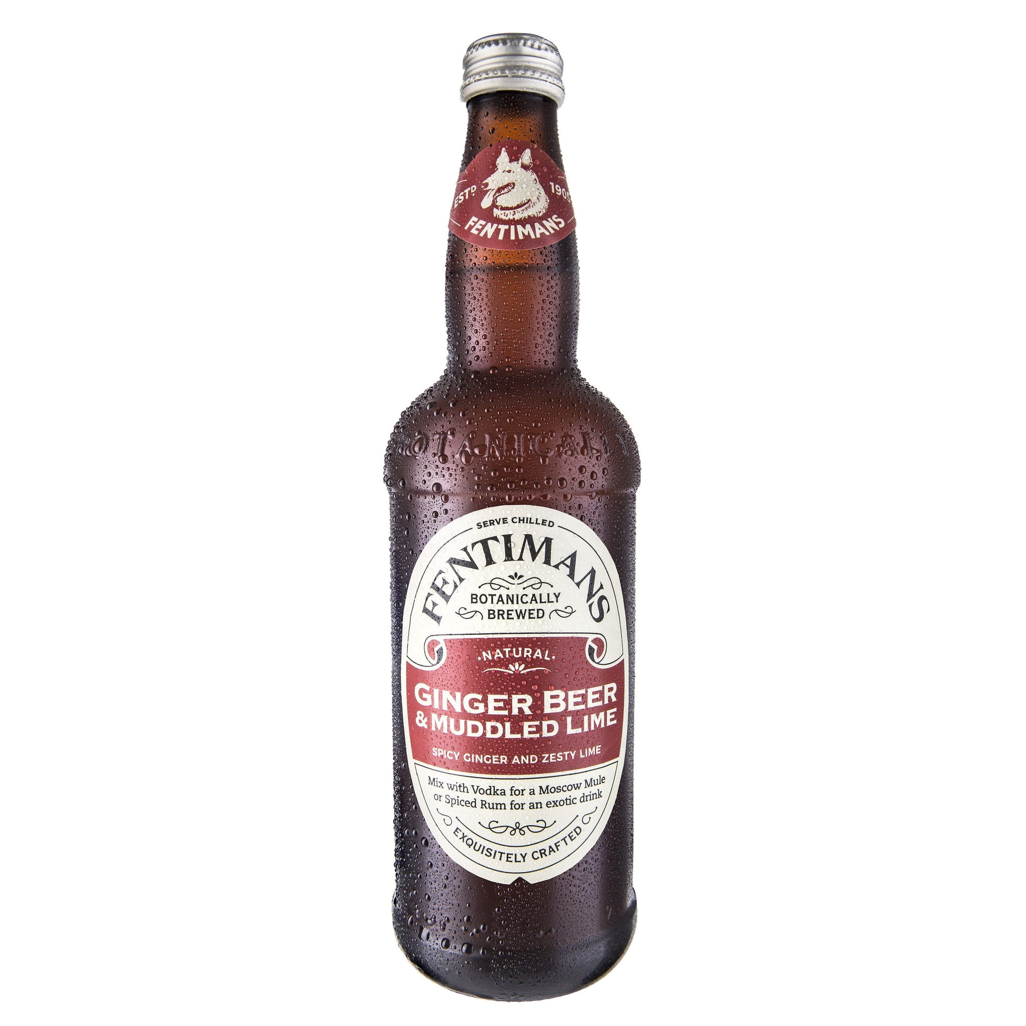 Fentimans Ginger Beer & Muddled Lime - 50cl