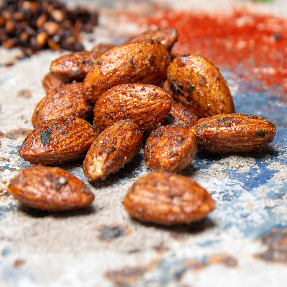 Moroccan Spiced Almonds