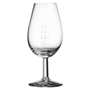 Distillery Whisky Taster Glass with Gauge Lines 14cl