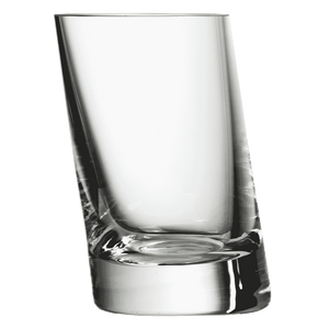 Leaning Shot Glass 7cl