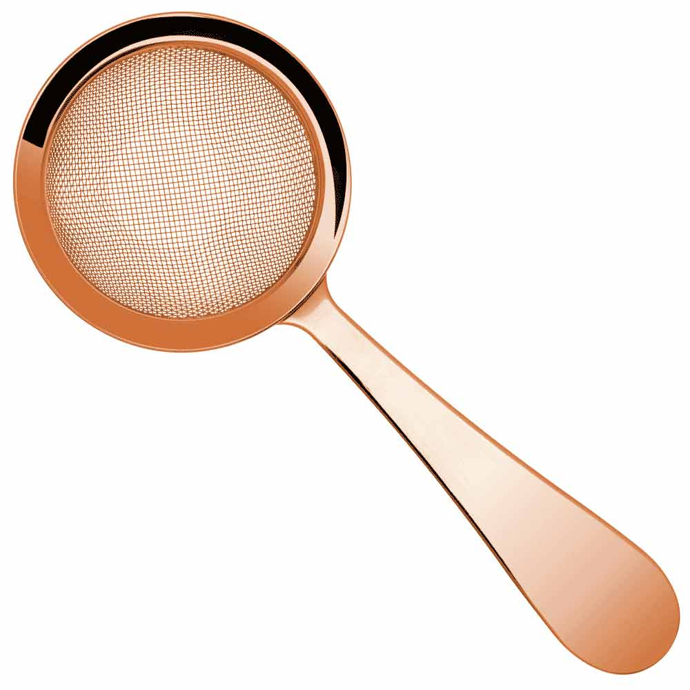 Biloxi Copper Fine Mesh Cocktail Strainer