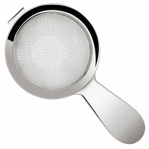 Biloxi Stainless Steel Short Handled Fine Mesh Cocktail Strainer 15cm