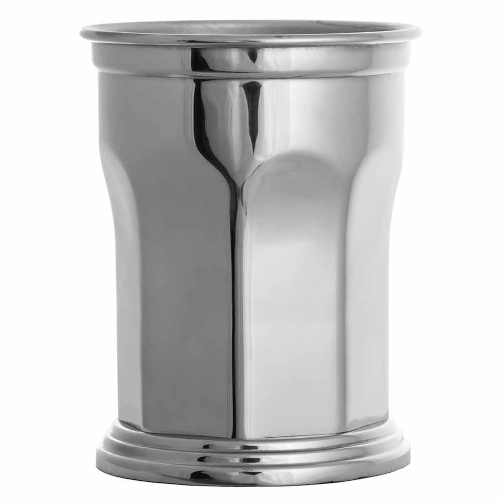 Octagonal Stainless Steel Julep Cup 39cl