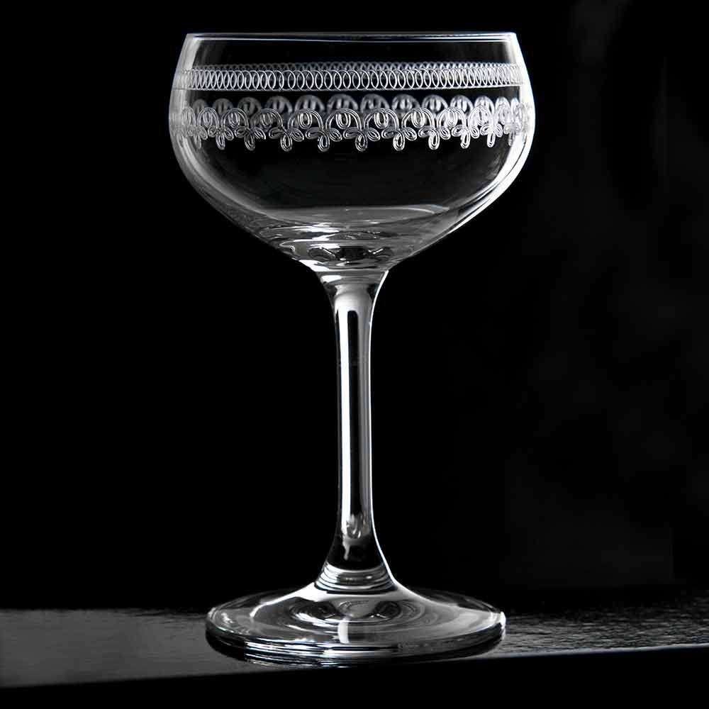 1910 Champagne Glass Coupe 21cl