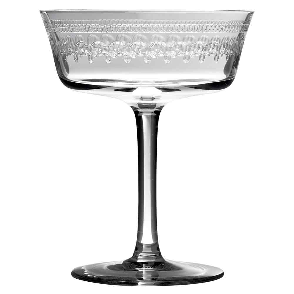 1910 Fizzio Champagne Glass Saucer Coupe 26cl
