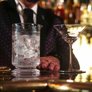 Calabrese 3 Cuts Cocktail Footed Mixing Glass 60cl