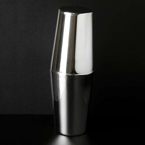 Classico Silver Plated Tin-on-Tin Cocktail Shaker 1 Pint