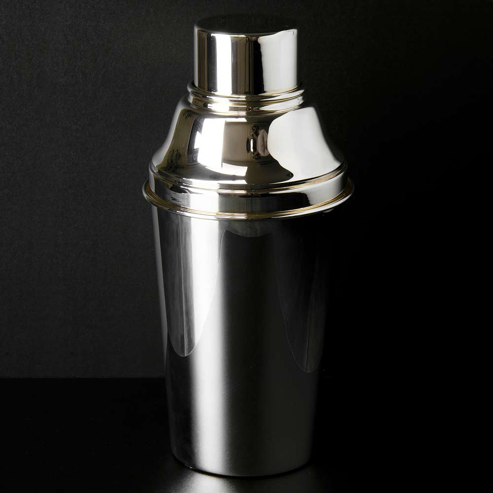 Classico Large Cocktail Shaker Silver Plated 1.5 Pint