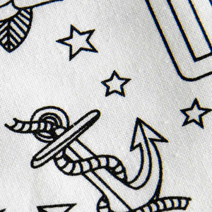Tattoo Cotton Tea Towel