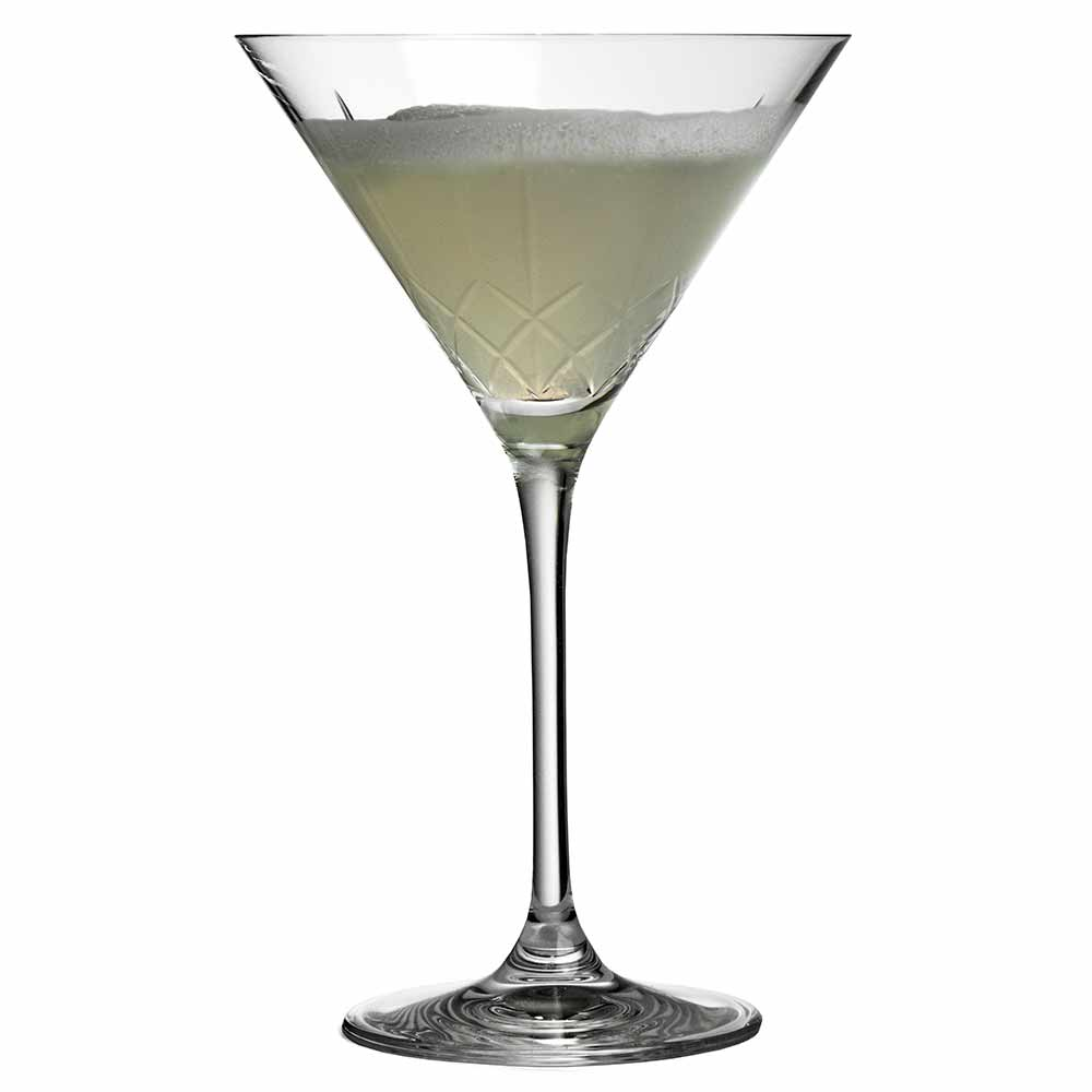 Ginza Tall Cuts Martini Glass 21cl