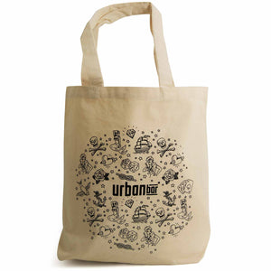 Tattoo Cotton Tote Bag 39cm x 42cm
