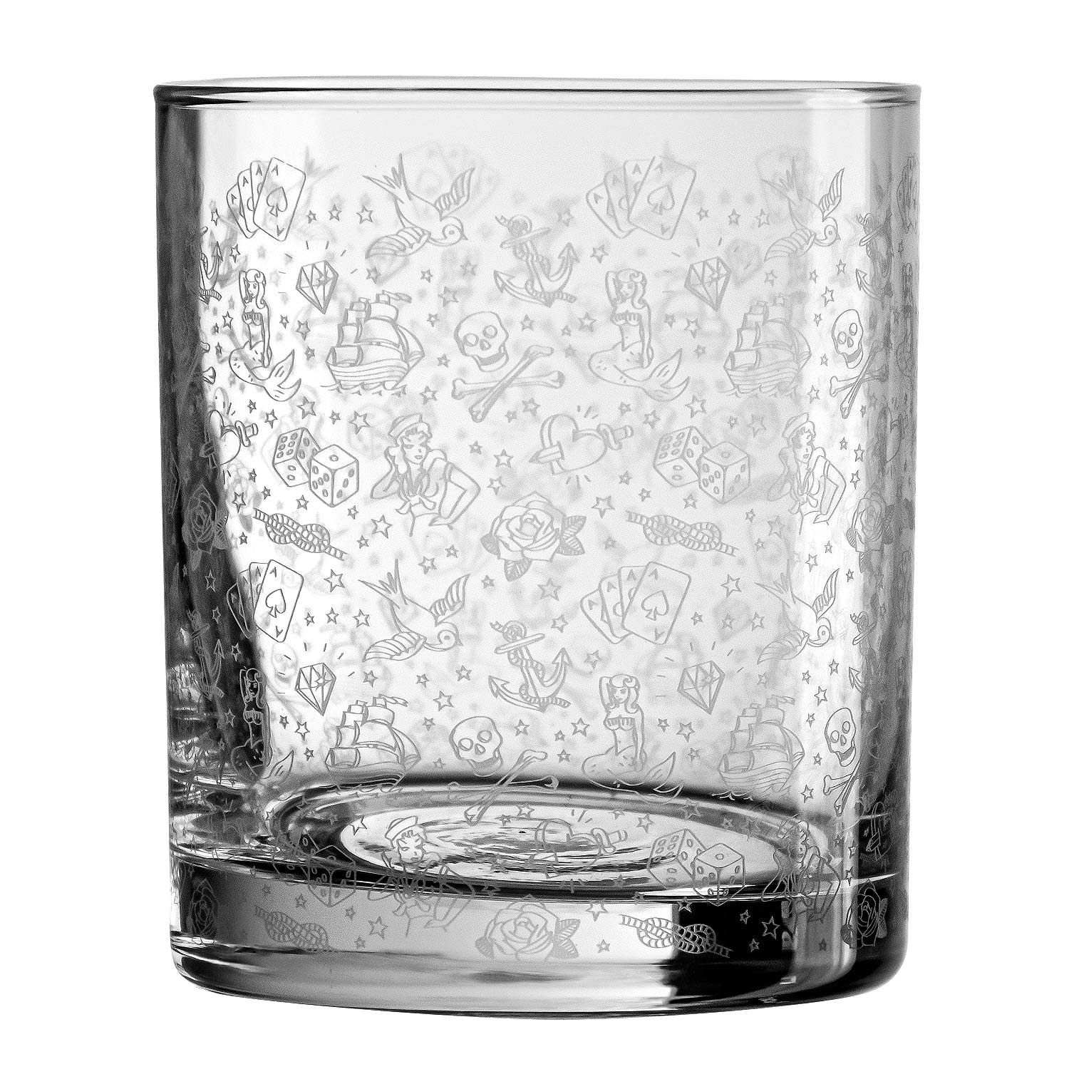 Tattoo Old Fashioned Tumbler 25cl