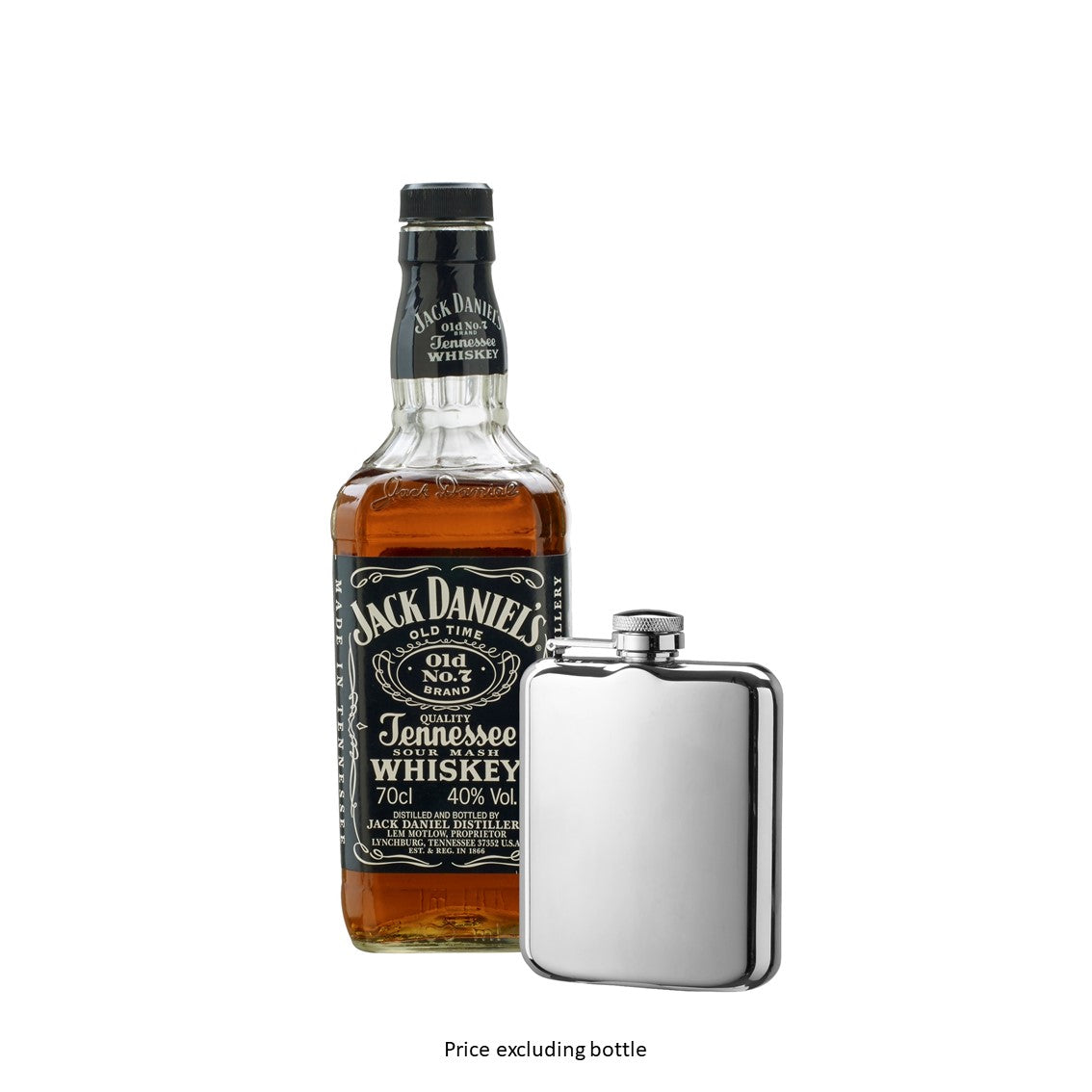 Hip Flask Stainless Steel 20cl