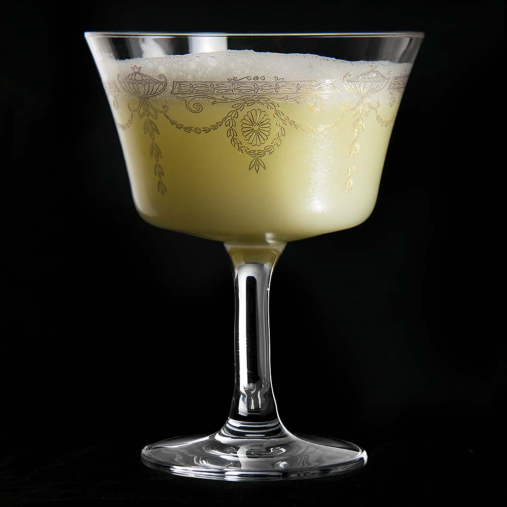 1890 Gold Fizz Cocktail Glass Coupe 20cl