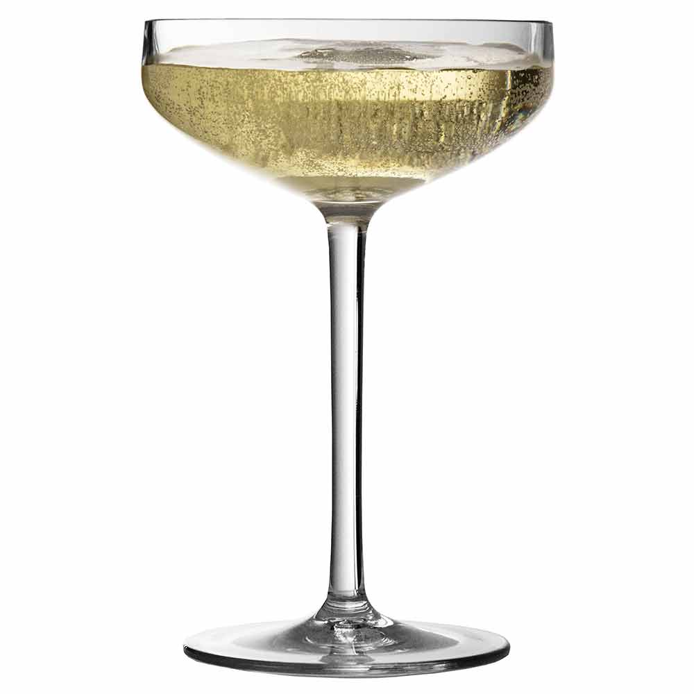Iris Shatterproof Plastic Champagne Saucer Coupe 28cl