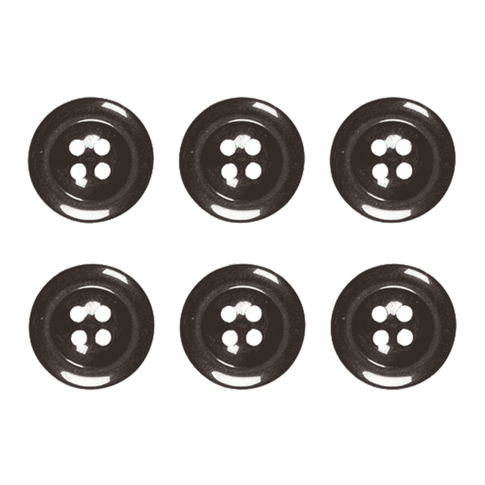 Buttons for Black Elastic Bartender Braces