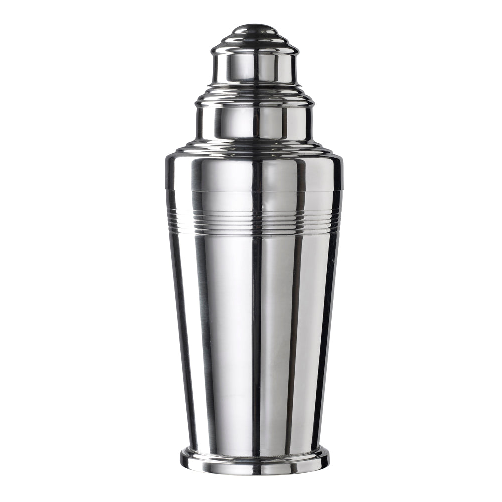 Coley Three Piece Footed Shaker Polished 50cl