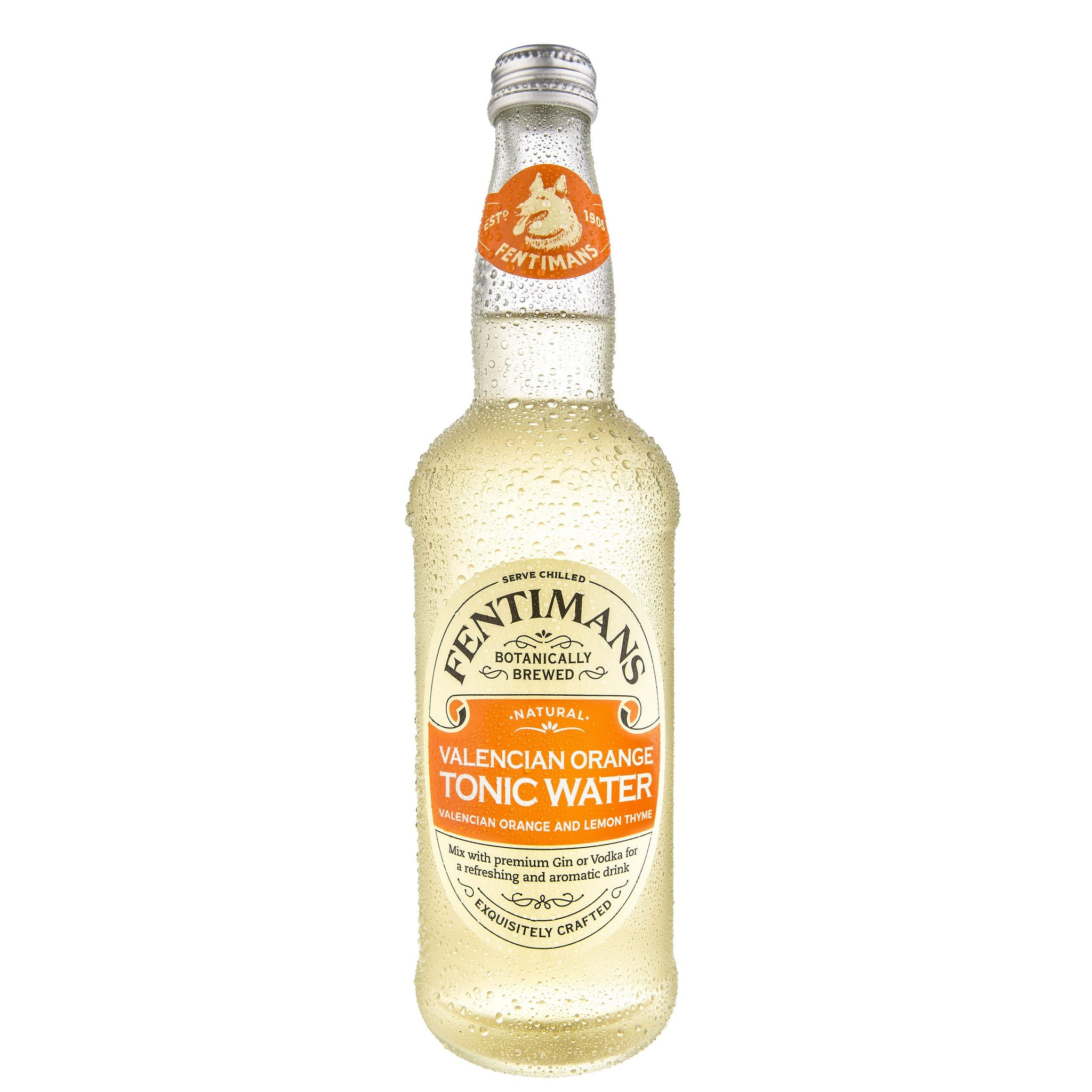 Fentimans Valencian Orange Tonic Water - 50cl