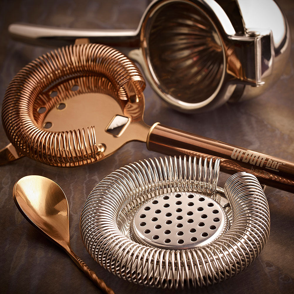 Hawthorne Copper Cocktail Strainer 20cm