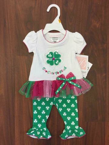 Bonnie Jean st patricks day outfit