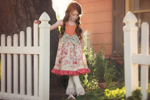 "Persnickety Clothing ""pocket full of posies"" Brandi dress"